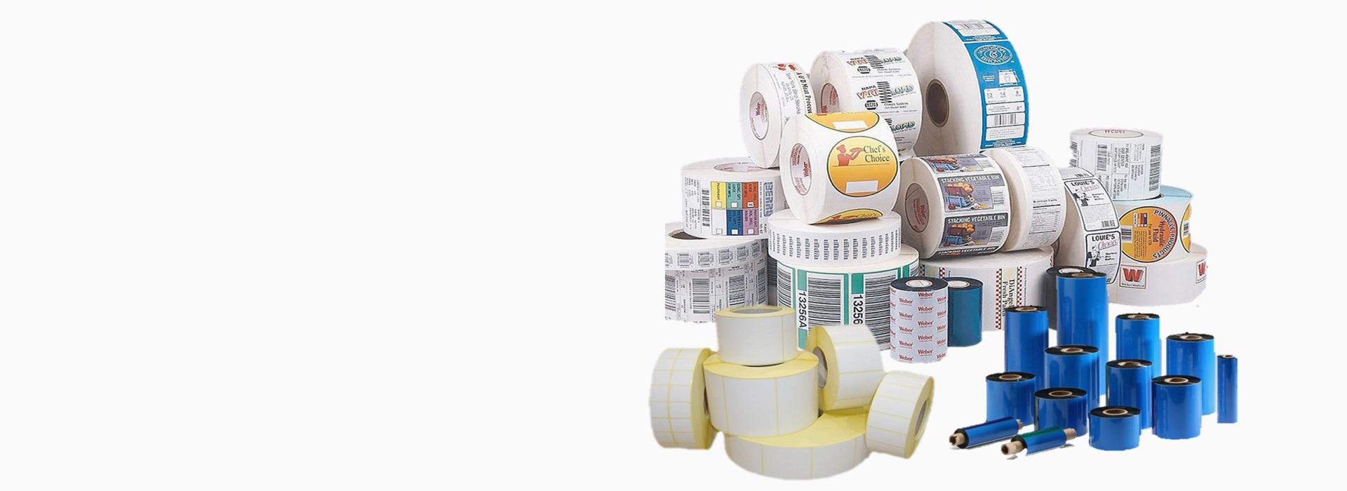 Barcode Labels and Ribbons in Dubai, UAE, Kuwait, Oman, KSA & Qatar