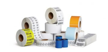 Barcode labels & ribbons in Dubai, UAE, Kuwait, Oman